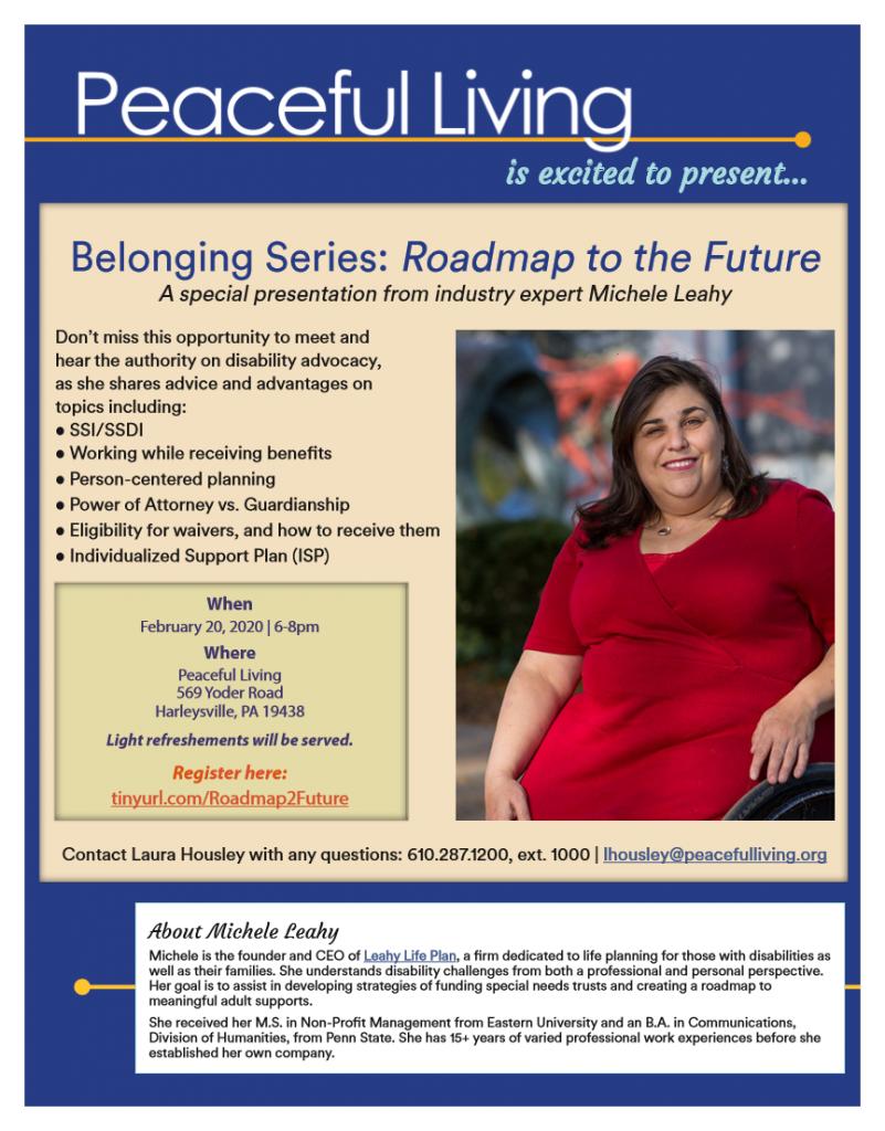 Belonging Series : Roadmap to the Future @ Peaceful Living